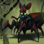 Monstrous Black Widow